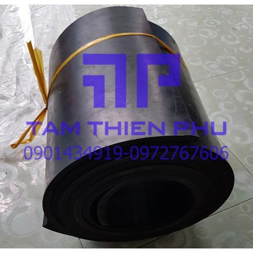 Cao su màu đen dày 40mm (40li)