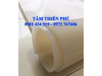 Cuộn silicone trắng dày 5ly