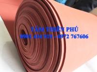 Cuộn silicon xốp đỏ dày 5mm