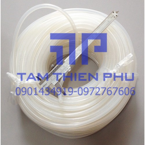 Ống silicon phi 3x6