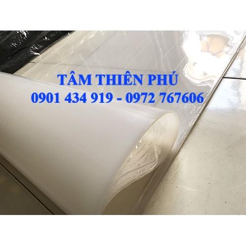 Cuộn silicon trắng dày 10mm