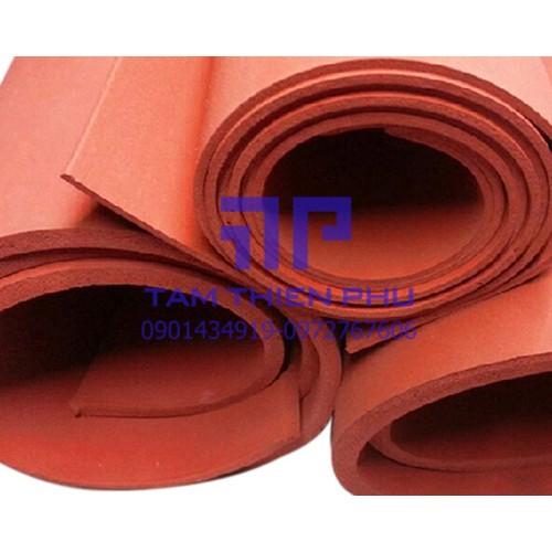Cuộn silicon xốp đỏ dày 8mm