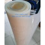 Cuộn silicone trắng dày 4mm