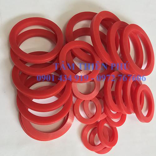 Vòng đệm silicon màu đỏ chịu nhiệt