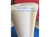 Cuộn silicone trắng dày 5mm