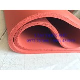 Cuộn silicon xốp đỏ dày 15mm