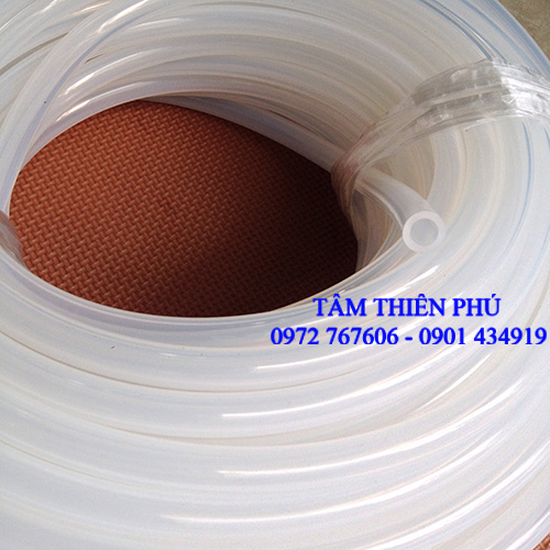 Ống silicone phi 8x12