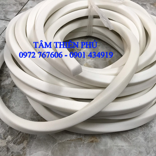 Ron silicon xốp trắng 18x18mm