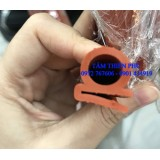 Gioăng silicon tủ sấy chịu nhiệt màu đỏ