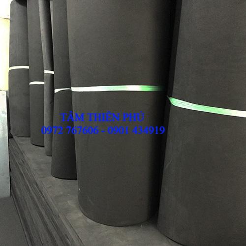 Cuộn mút eva màu đen 10ly