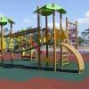 Gạch cao su lót công viên