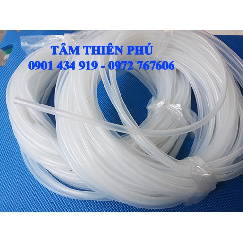 Ống silicone phi 5x8mm