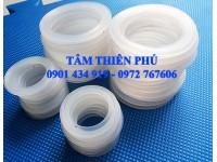 Gia công sản xuất vòng đệm silicone chèn khe làm kín theo yêu cầu